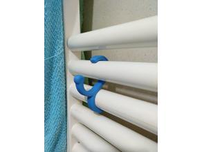 Bathroom Towel Holder 25mm / Appendino per radiatore