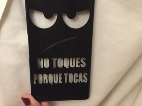 Xperia Z3 case Don't touch me