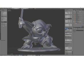 Yoda Figurine v0.4