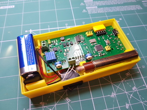 Enclosure  SMD-based geiger counter with SBT9 by impexeris