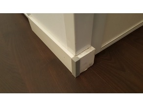 Corner protect for plinth