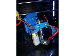 Anet A8 3 Bearing X Carriage With CableChain