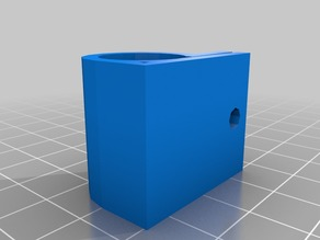 Fastenable version of lm8uu holder for Buback's Mendel / Prism Vertical X axis