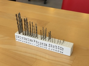 Small Drill Bits Magnetic Holder