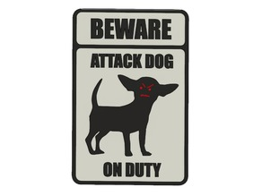 Beware, Dog!