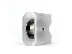 Bear X end mount for original Prusa smooth 20T idler