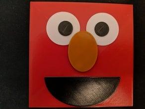 Multicolor Elmo print for single extruder printers