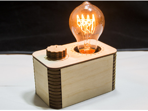 Edison Lamp with Dimmer