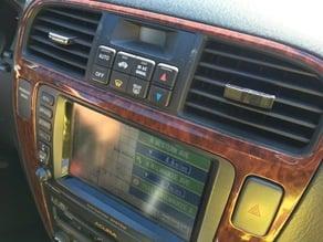 Acura MDX vent clip
