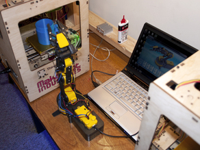 Robot arm alternative to ABP for remote operation.