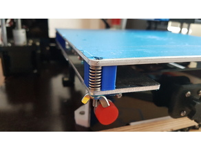 Anet A6 Hotbed Fixing Cube