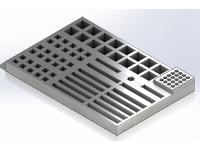 CNC3040 Milling Tooling Tray