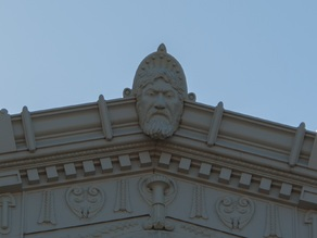 """North Wind"" architectural decoration"