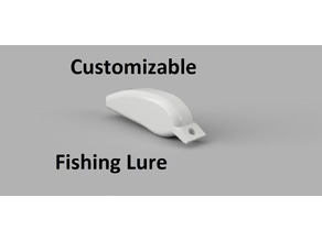 Customizable Fishing Lure for Trout & Bass Fishing