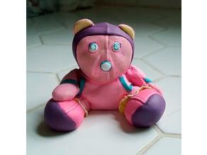 Old Teddy Bear (3D Scanned)
