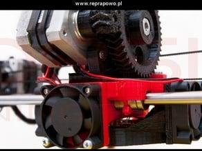RepRap Prusa Mendel X Carriage - TOTAL X UDS