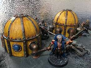 Industrial dome for wargaming Part #1