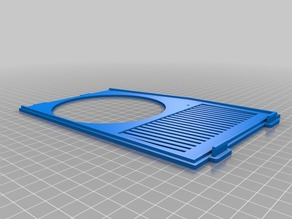 Remixed Anet A8 Electronics Case Cover Plate