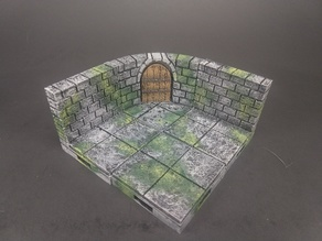 OpenForge 2.0 Cut-Stone Curved Doors