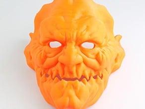 demon mask #CostumeChallenge