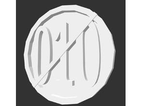 FL4K Pin Borderlands 3 - Non-binary pin