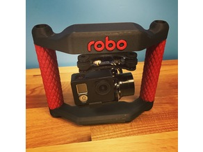 Robo Customized Go Pro Rig with Gimbal Mount