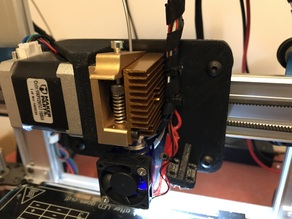 X axis for Ord Bot Hadron and MK7 extruder