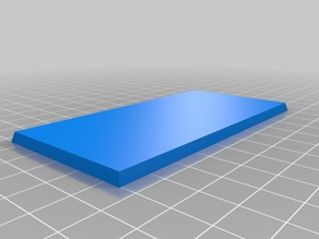 Tabletop Base 50x100mm
