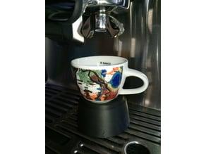 Espresso cupextender for Gastroback coffeemachine