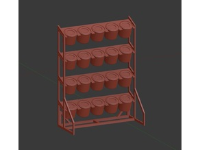 UPS - Ultimate Paint Stand: Humbrol / Revell (20P)