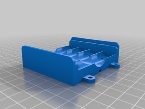 Battery box for 4 AA cells