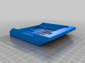 PrusaMK2-like RepRapDiscount Full Graphic Smart Controller holder