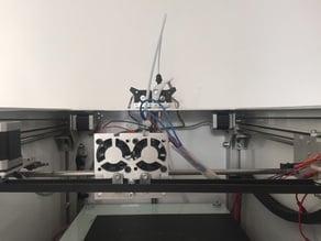 Leapfrog creatr e3D bowden mount