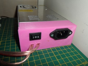 Simple Panel for 12V/30A Power Supply