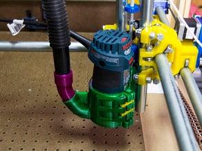 MPCNC Bosch Quick Release & Vacuum Mount