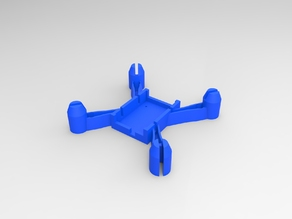 smaller 57mm hubsan x4 replacement frame (h107)