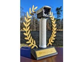 Surveillance Camera Trophy