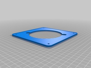 base for 100mm extractor fan