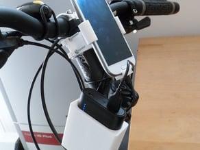 Anker PowerCore 10.000 mAh - bike holder (+ CAD-files)