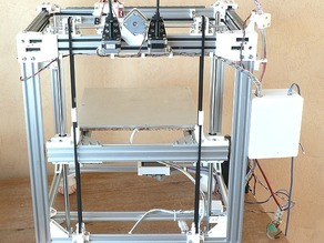 Bed_Hoist_for_a_3D_Printer_ (D-Bot, Core_XY)