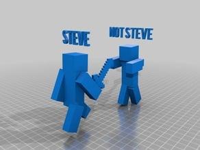 Steve fighting back
