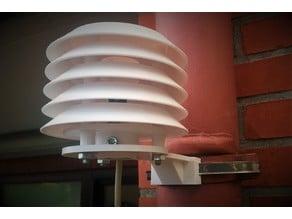 Radiation Shield mount 100mm