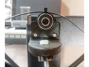 Wanhao i3 / maker select v2.1, 608 bearing side filament guide