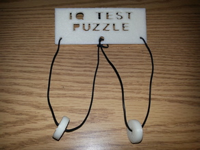 String and washer puzzle