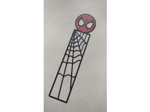 Colorised Spiderman Bookmarks