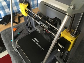 Wanhao i3 Plus X-axis/Z-axis rebuild