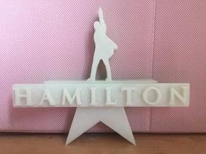 Standing Hamilton Logo
