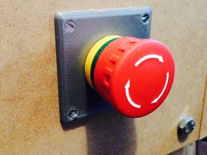 Panic switch cover plate