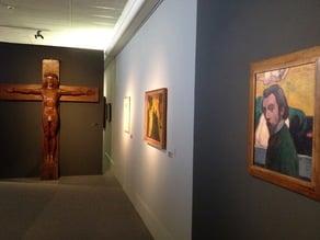 Scan de sculpture du Christ - musée des beaux-arts de Brest