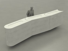 Tecpro Barriers/Barrieren for slotcars 1:32